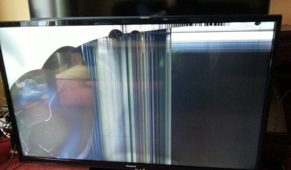 I Broke The Screen Broken Lcd Led Tv Screen Alamo Tv