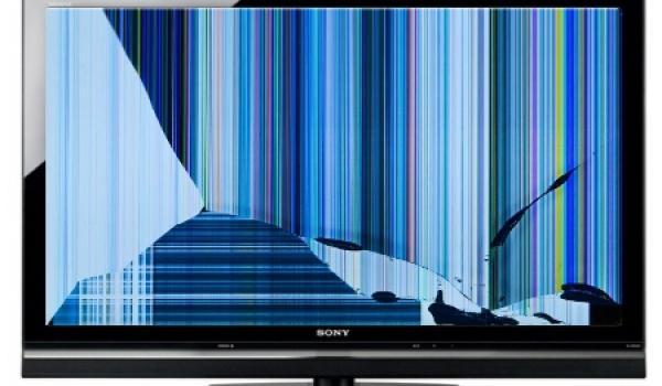 Broken Led Lcd Plasma Tv Screen Recycling